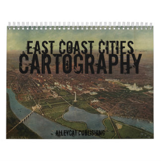 東海岸都市地図作成のカレンダー カレンダー