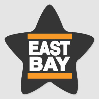 東湾のオレンジ 星シール