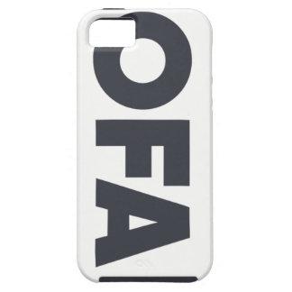 東湾OFAのロゴのiphone 5/5Sの電話箱 iPhone SE/5/5s ケース