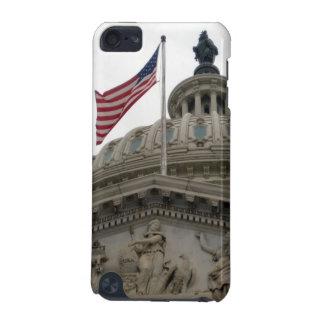 東米国旗が付いている米国の国会議事堂の建物- iPod TOUCH 5G ケース