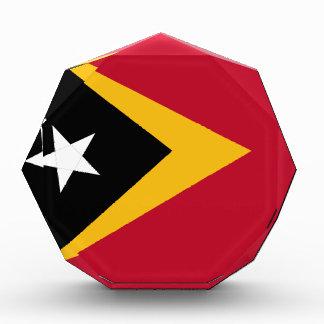 東部チモール島の旗 表彰盾