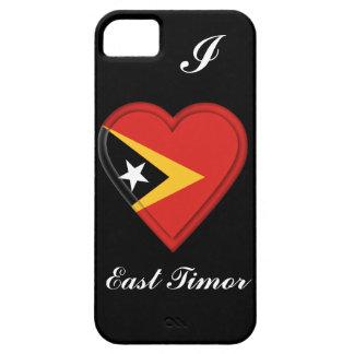 東部チモール島の旗 iPhone SE/5/5s ケース