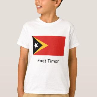 東部チモール島の旗 Tシャツ