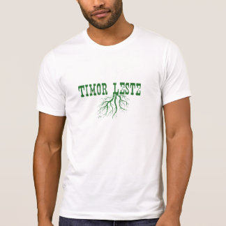 東部チモール島の根 Tシャツ