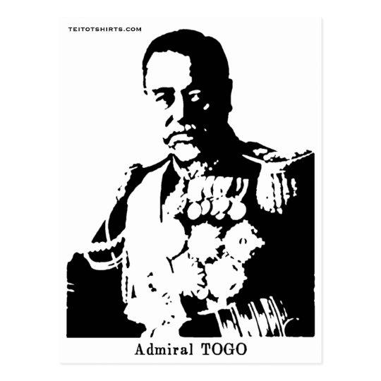 """東郷平八郎 Togo Heihachiro """"Admiral TOGO"""" ポストカード"""