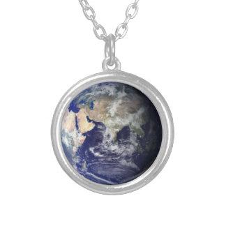 東|半球|インド|地球|ネックレス カスタムネックレス