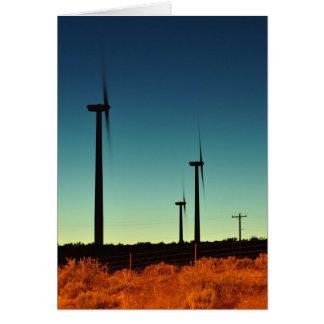 東WAの風力 カード