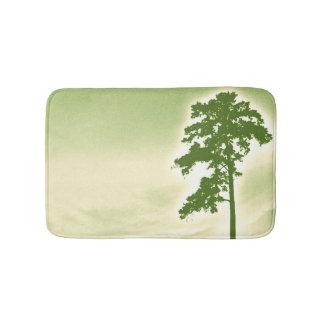 松の木のバス・マット-緑 バスマット
