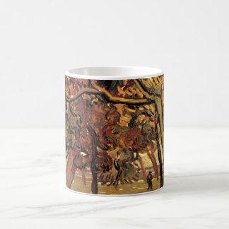 松の木のヴィンテージの印象主義のゴッホの勉強 コーヒーマグカップ