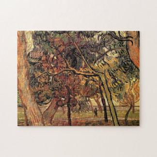 松の木のヴィンテージの印象主義のゴッホの勉強 ジグソーパズル
