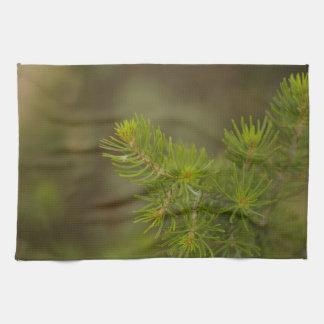 松の木の台所タオル キッチンタオル
