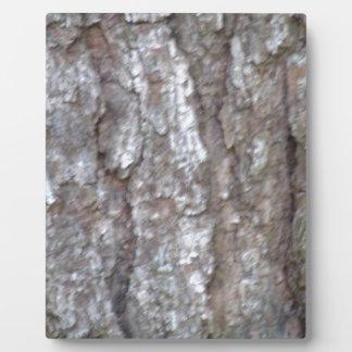 松の木の吠え声の迷彩柄の自然な木製のカムフラージュの自然 フォトプラーク