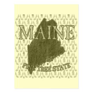 松の木の国家 ポストカード