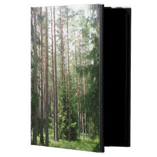 松の木の森林 iPad AIRケース