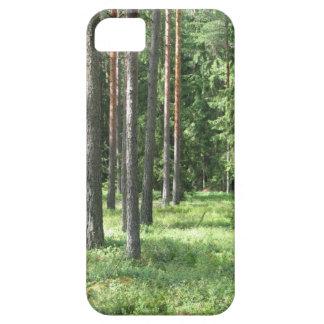 松の木の森林 iPhone SE/5/5s ケース