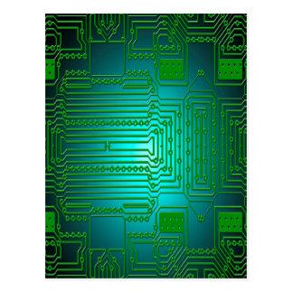 板コンダクター回路 ポストカード