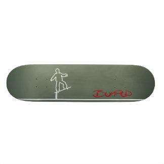 板粉砕 20.6CM スケートボードデッキ