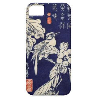 枇杷に鳥、広重の鳥およびビワ、Hiroshige、Ukiyo-e iPhone SE/5/5s ケース