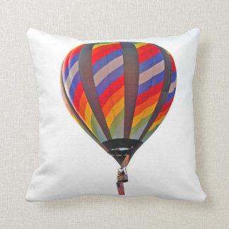 枕の熱気の気球の写真撮影 クッション