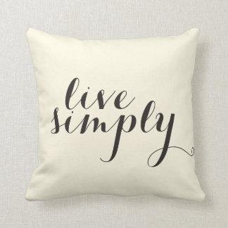枕は単に住んでいます クッション