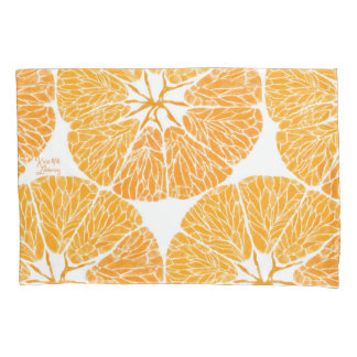 枕カバー-オレンジ嬉しい… 枕カバー