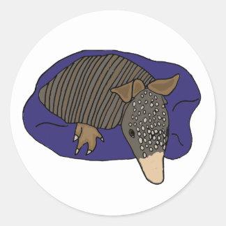 枕デザインのX-Yベビーのアルマジロ ラウンドシール
