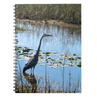 林間の空地の青い鷲 ノートブック