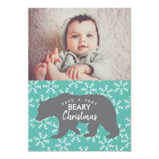 果実のクリスマス|の休日の写真カード カード