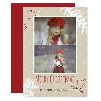 果実のクリスマス カード