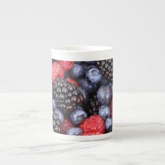 果実のフルーツのようなマグ ボーンチャイナカップ