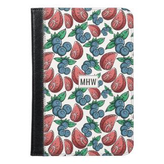 果実パターンカスタムなモノグラム装置ケース iPad MINIケース