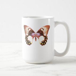 果樹園のアゲハチョウの蝶 コーヒーマグカップ