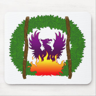 果樹園のロゴ マウスパッド