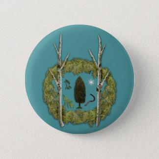 果樹園ボタン 5.7CM 丸型バッジ