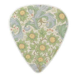 果樹園、Dearle 1899年 アセタール ギターピック
