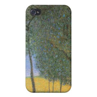 果樹-グスタフのクリムト iPhone 4 ケース