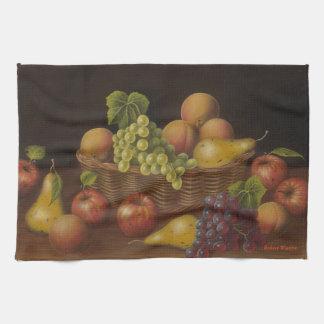 果物かご キッチンタオル