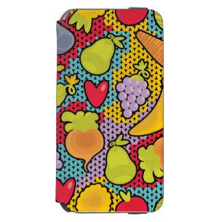 果物と野菜が付いているパターン INCIPIO WATSON™ iPhone 6 財布ケース