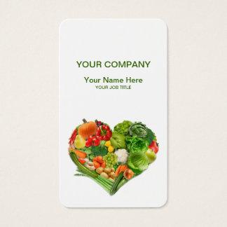 果物と野菜のハートビジネス 名刺