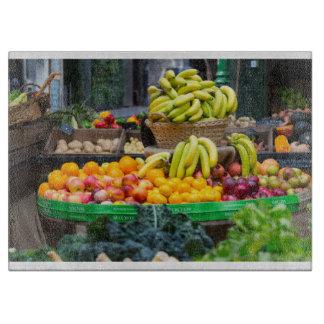 果物と野菜 カッティングボード