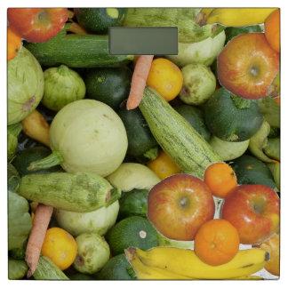 果物と野菜 体重計