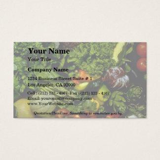 果物と野菜 名刺