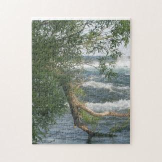 枝および川 ジグソーパズル