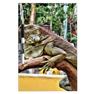 枝のトカゲ ホワイトボード