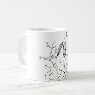 枝の孔雀 コーヒーマグカップ