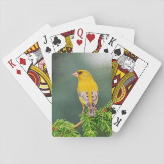 枝の黄色い鳥 トランプ