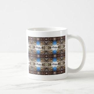 枝タペストリーパターン コーヒーマグカップ