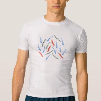 枝人の圧縮のTシャツ Tシャツ