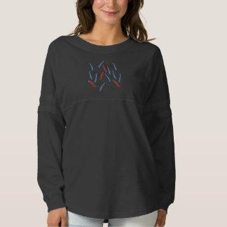 枝女性の精神のジャージーのワイシャツ スピリットジャージー