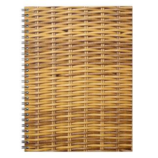 枝編み細工品 ノートブック